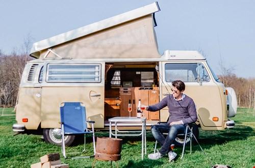 VW camper van Vintage Roadtrips