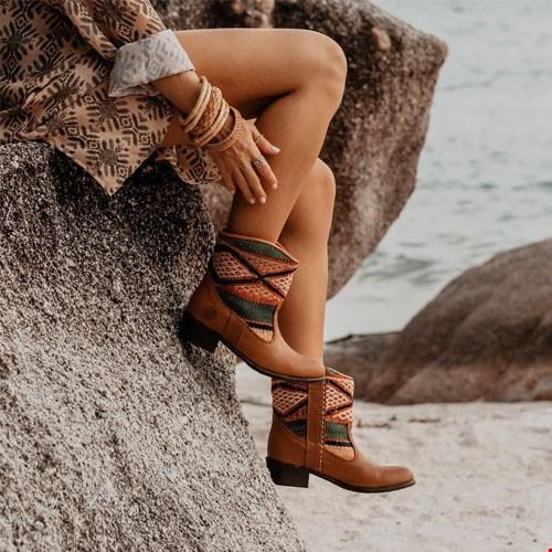 Kelim Boots