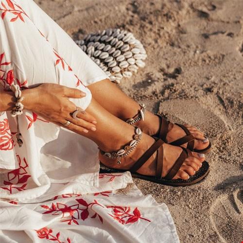 Handgemaakte Sandalen