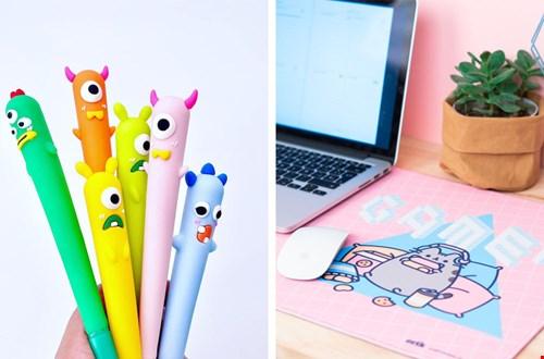 We willen natuurlijk ook leuke pennen!