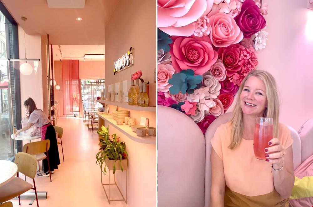 Bij MOOY Antwerp is alles mooi roze