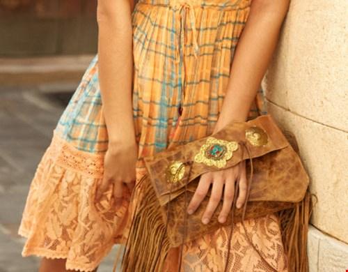 Savage Culture Leren Clutch Goddess