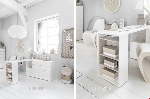 Multifunctionele meubels, zoals hier bij Petite Amélie