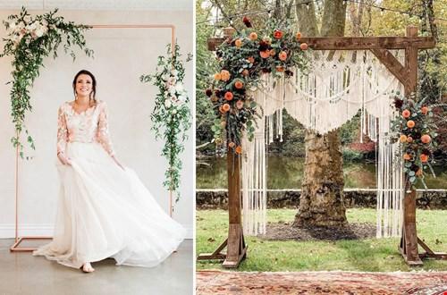 Bloemen en Macramé backdrop voor te gekke foto's