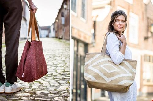 Duurzame shoppers van Emma Martin en Indigo Mae