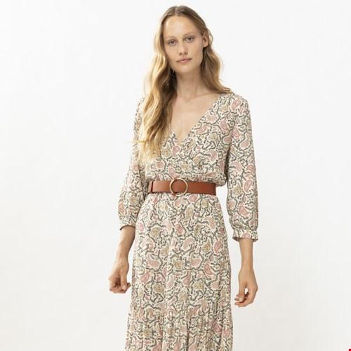 Maxi Dress met Paisley Print