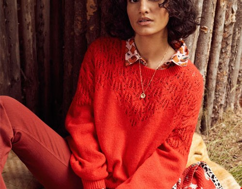 Pullover Hot Red