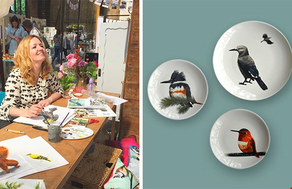 Zoals ik van te voren al gedacht had... ik heb mezelfs twee prachtige borden van Lovemyrte.com cadeau gedaan, yihaa!!
