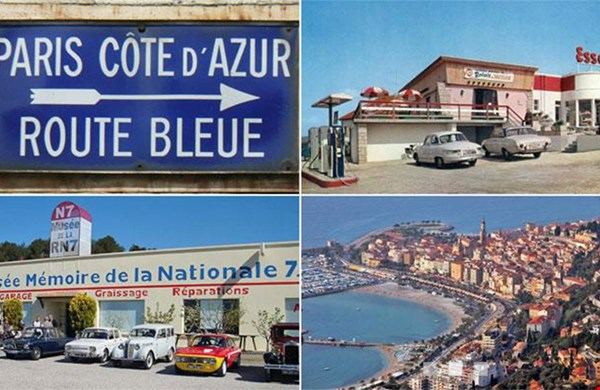 Bijzondere vakantie's in Frankrijk; wat denk je van een retro trip over oude wegen naar de Cote d'Azur...