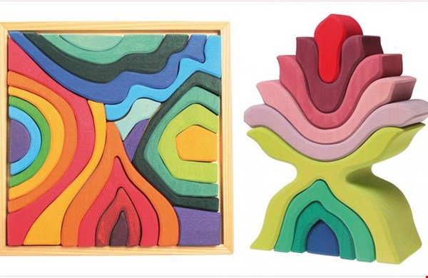 Abstracte organische vormen