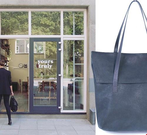 Droom vervuld: (tassen)atelier én winkel ineen!