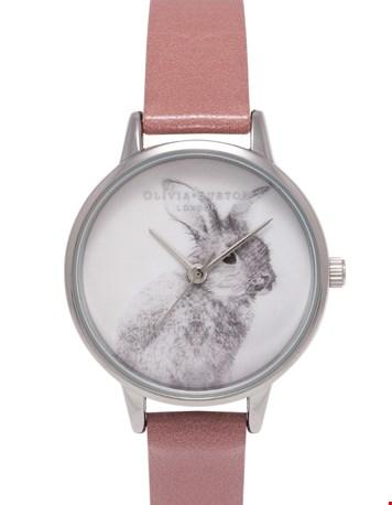 Woodland Bunny - Rose & Silver