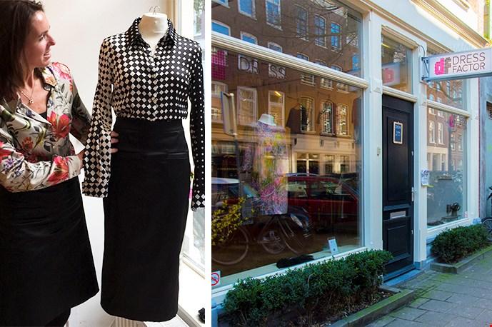 Het atelier van Marloes vind je in de gezellige Amsterdamse wijk De Pijp