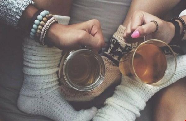 Het perfecte moment voor een kopje thee