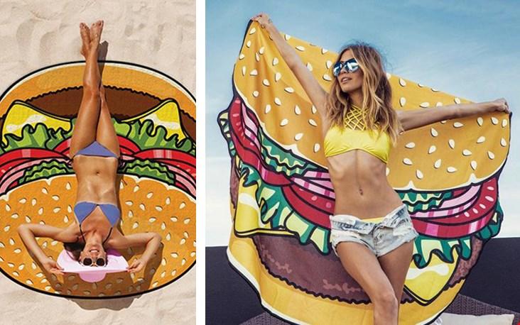 Lang leve zon, strand en hamburgers!