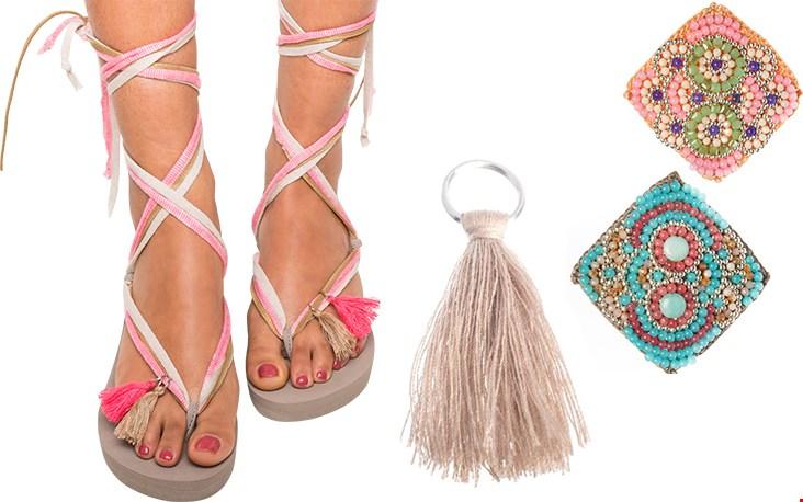Kies een slipper, zoek bandjes uit en pimpen met fraaie accessoires