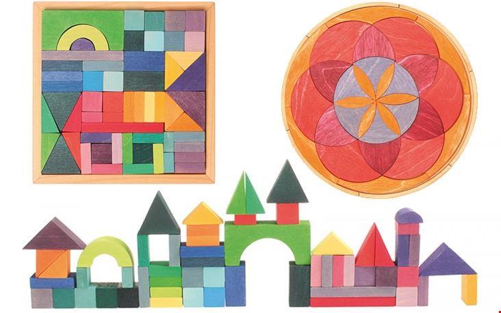 Hele steden bouwen of met mandela-vorm aan de slag