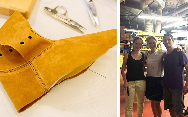Marjolein op bezoek in de fabriek van familiebedrijf 'La Botte Gardiane'