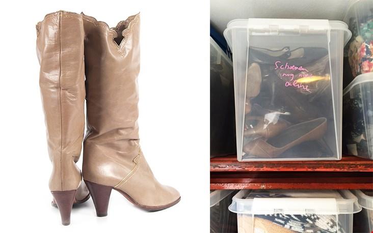 Eefje verkoopt hand picked vintage, m.a.w. door haar geselecteerde vintage items op modegebied van schoenen en laarzen tot...