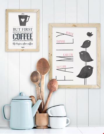 Mooi: gepersonaliseerde posters