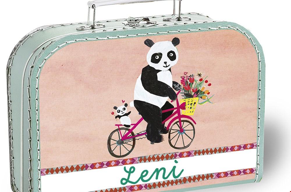 Grootzus koffertje panda Flavourites