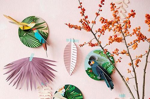 Studiodewinkel Papieren wanddecoratie Flavourites