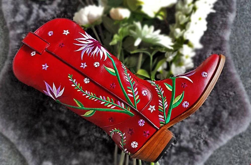 Boeties Rode Cowboylaarzen Flavourites