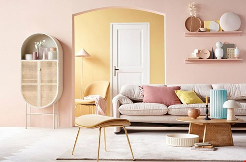 vt wonen Woonkamer Interieur Pastel Flavourites