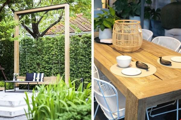The Garden Store Sfeermakers en Schommelbank Flavourites