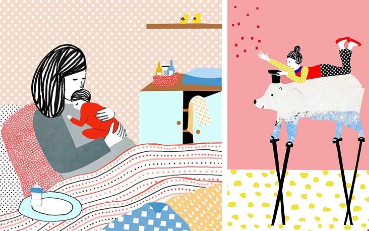 Ga naar de website van Manon om alle illustraties in z'n geheel te bewonderen!