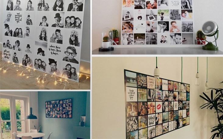 Fotocollages gemaakt met Instawall.nl