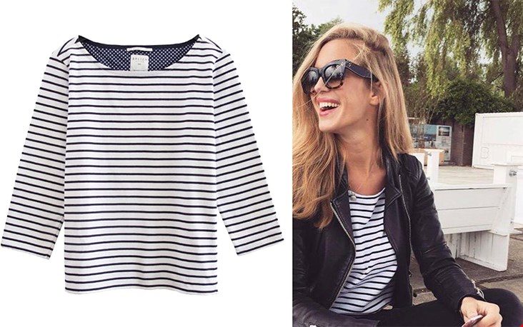 Kan altijd: the iconic stripe.