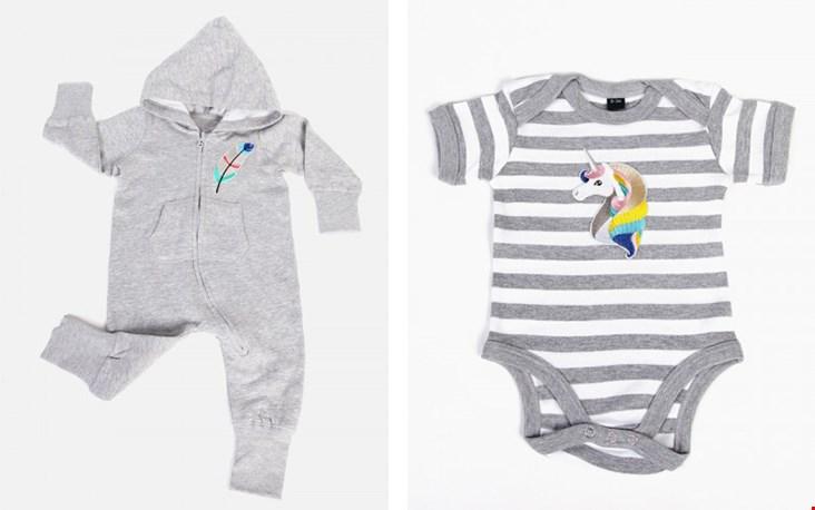 Een greep uit de huidige baby collectie...