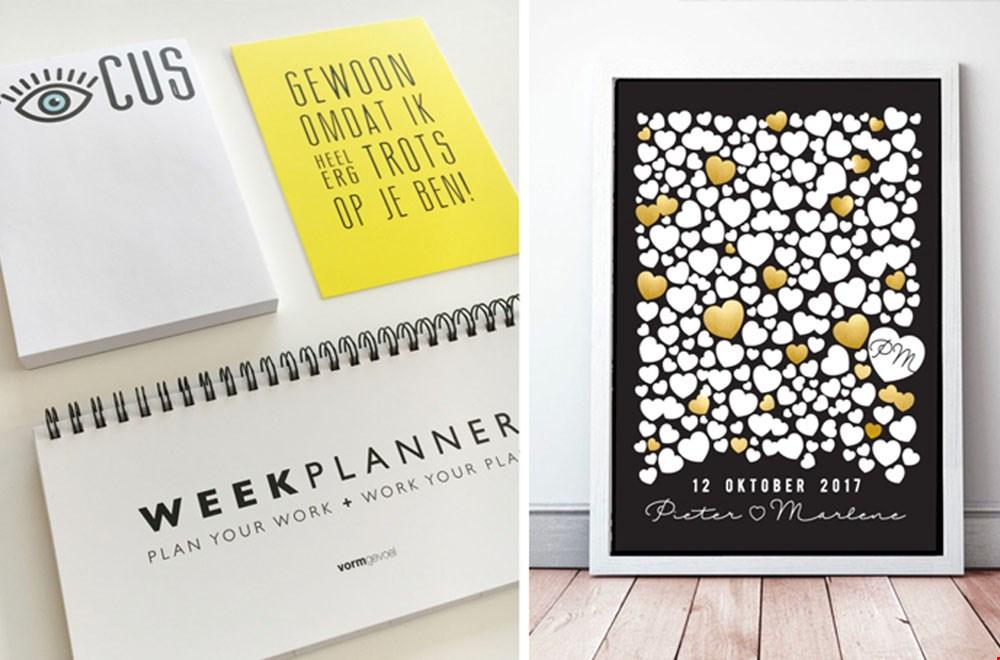 Vormgevoel Weekplanner Familieplanner Giftbox Flavourites