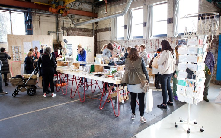 Wegens succes geprolongeerd: het Papier Atelier