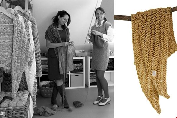 Slow knitwear: handgebreide items door de zussen Marja en Jolanda