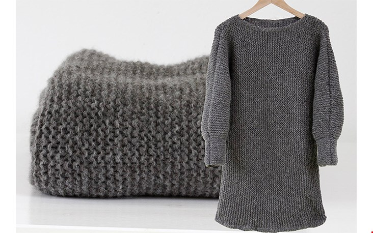Zo mooi, zelfs jurkjes van zachte wol...