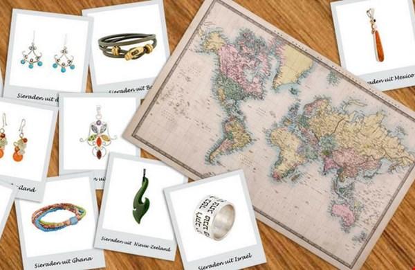 Een reis om de wereld in sieraden