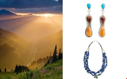 Unieke sieraden gemaakt door de Indianen in Noord-Amerika