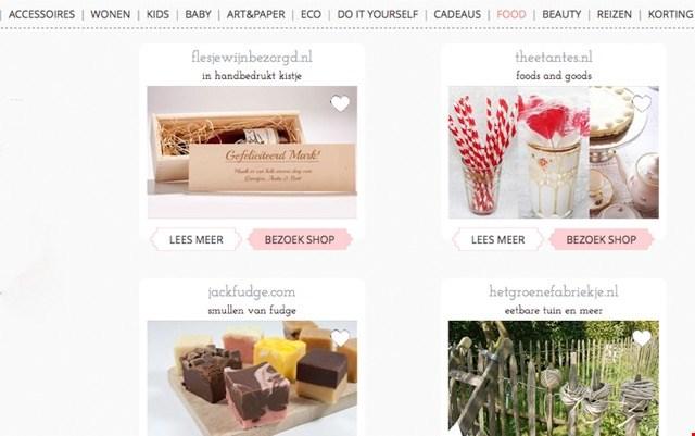 Veel foodtips op Flavourites.nl! Bekijk bijvoorbeeld eens de taarten en cupcakes van Mysweetdear.com!