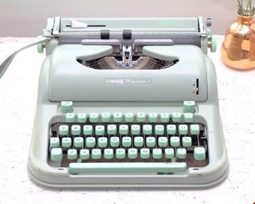 6x groen! O.a. deze gave typemachine van Froufrous.nl!
