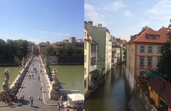 Vorig jaar waren we onder andere in Rome en Praag.