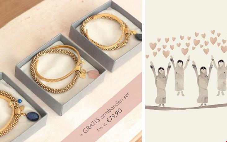 De Friends Gift Set voor 3 bijzondere dames in jouw omgeving (én voor jezelf!)