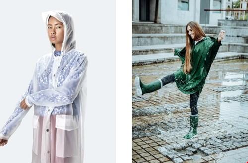 Altijd stylish in de regen!