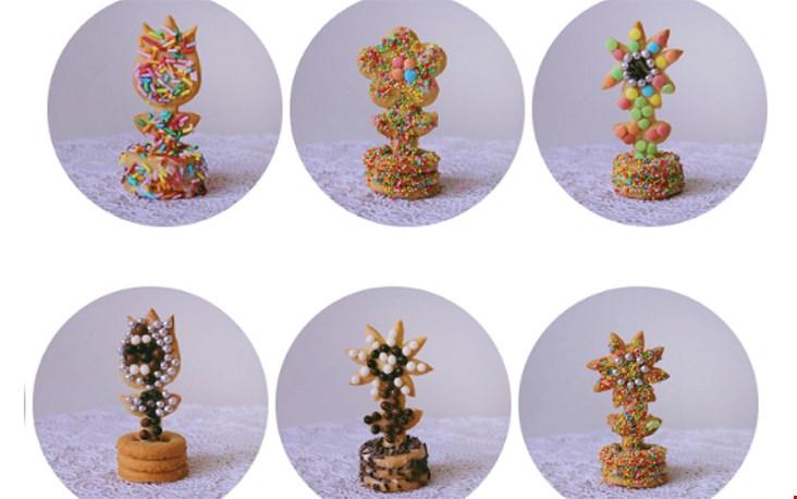 3D-koekjes. Yummie.