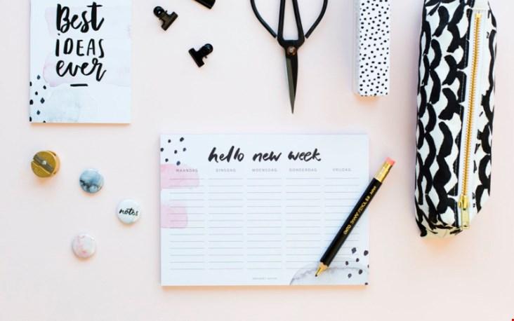 Wat vind jij van deze weekplanner?