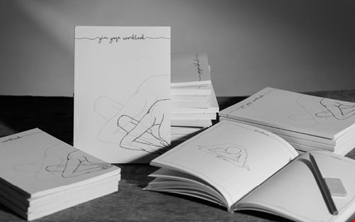 Prachtig yoga werkboek