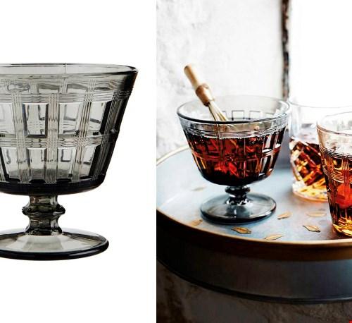 Wat een sfeer brengen deze glazen met zich mee!