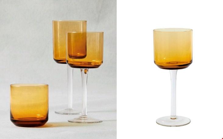 Mooi om te combineren met een laag glas.