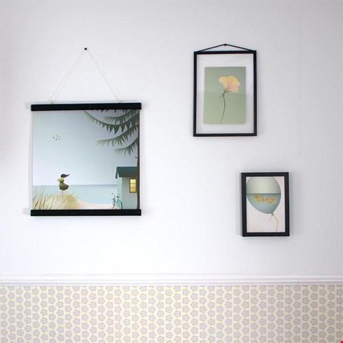 Okika illustraties op muur kinderkamer Flavourites